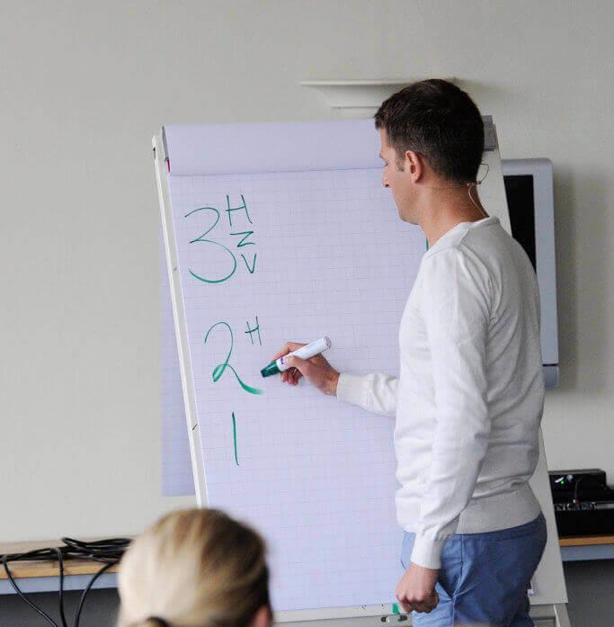 NLP trainers tijdens NLP Opleiding